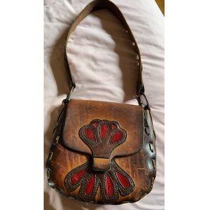 ❤️Vintage Tooled Leather Purse❤️